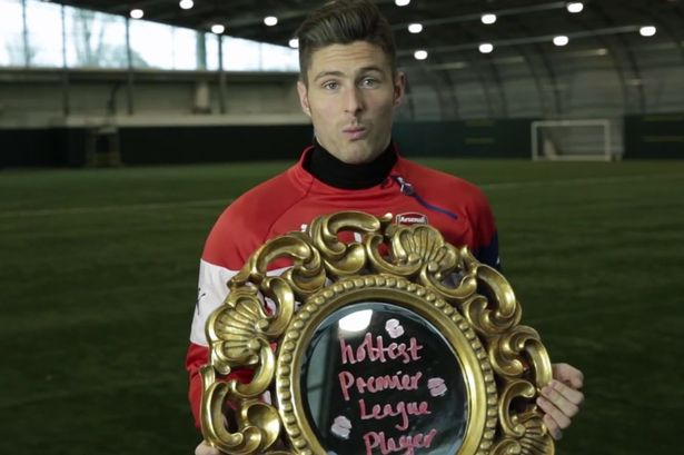 Arsenal's Giroud rated Premier League's hottest player