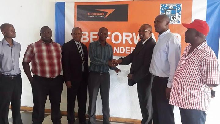 BE-FORWARD WANDARERS DONATE MK200, 000 TO BULLETS FC FOR CAF TRIP