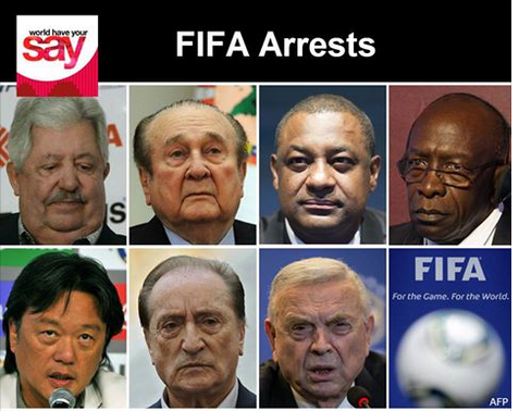 Top FIFA Officials Arrested On Corruption Charges