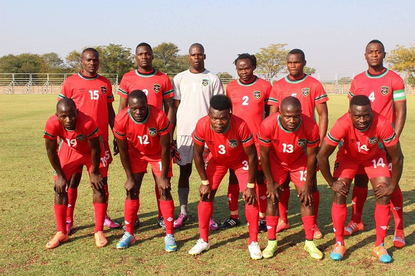 FLAMES STARTING LINE-UP AGAINST MAMBA