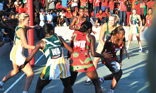 MALAWI QUEENS THRASHED BY SOUTH AFRICA 43-33 IN DIAMOND CHALLENGE CUP