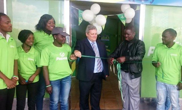 MALAWI SOCCER FANS CELEBRATE THE OPENING OF SPORTS BETTING COMPANY