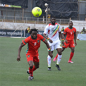 Flames warm up with Mali before kick-off with Guinea