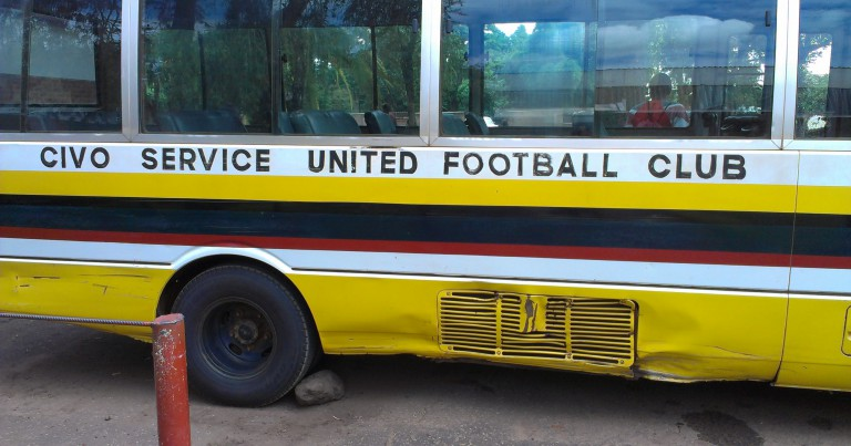 Government fulfills its pledge of a bus to Civo United