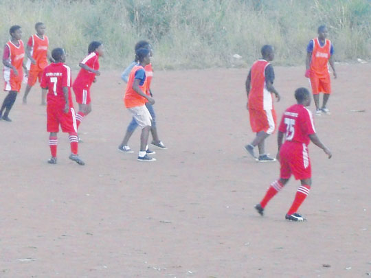 Flicker of hope for local womens football