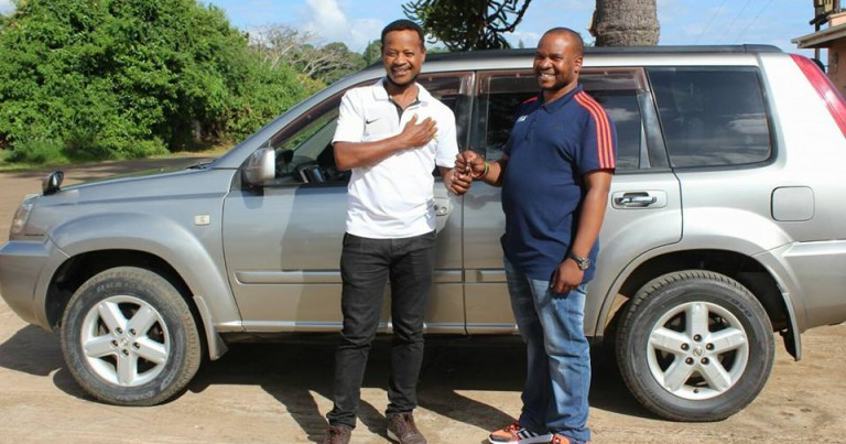 FAM fulfills its promise, Mtawali receives a car