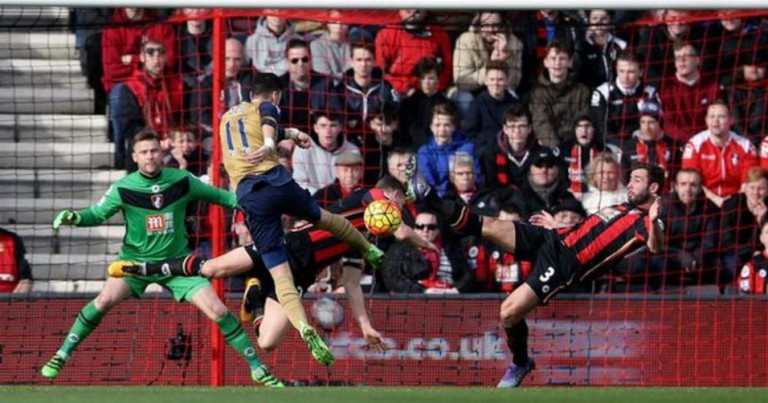 Arsenal go third with win at Bournemouth