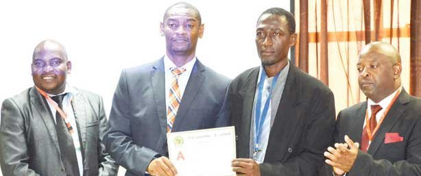 Caf A course topped by Benjamin Kumwenda