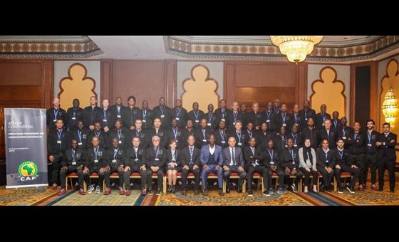 CAF seminar ends today in Cairo, FAM's Kaputa among TDs attending