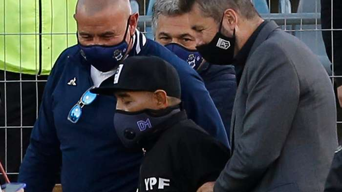 Maradona admitted to hospital after Argentina legend seen in ill health at birthday celebration