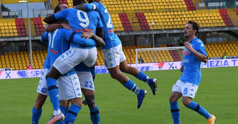 Napoli won an appeal over a point deduction