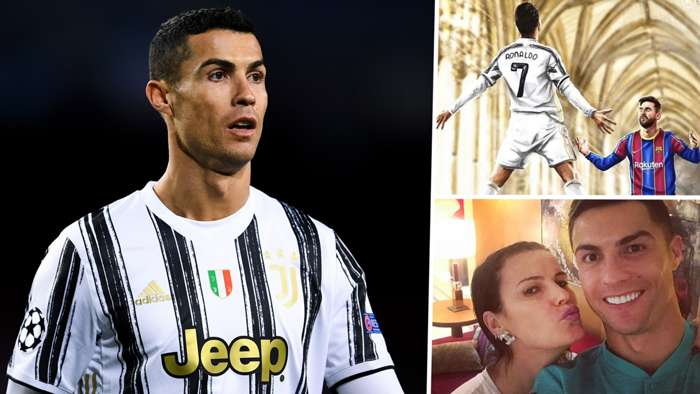 Ronaldo's sister posts picture of Messi worshipping Juventus star after his two goals against Barcelona